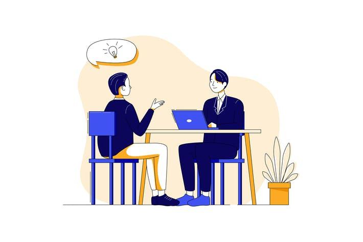 تکنیکهای مصاحبه استخدام برای کارجویان
