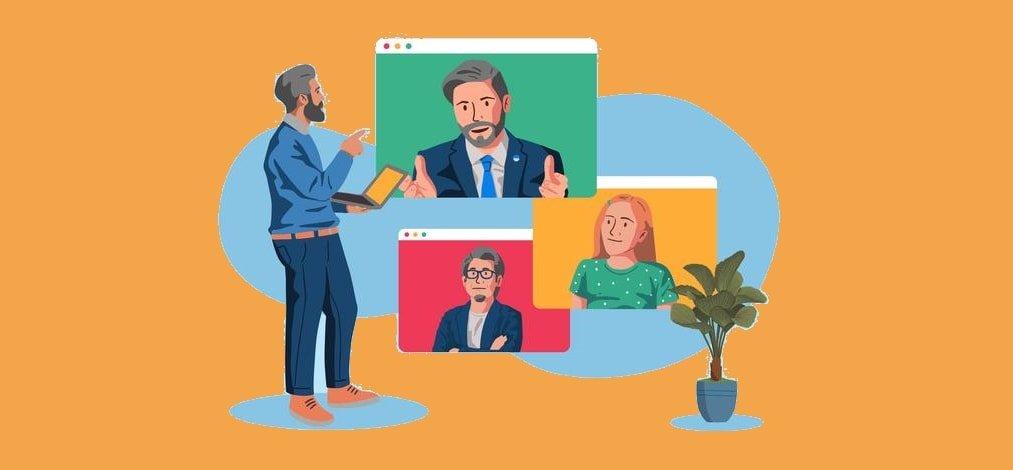 مصاحبه استخدام مجازی آنلاین